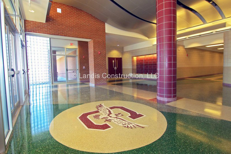 Inside the LaCoste Addition to Chalmette High School