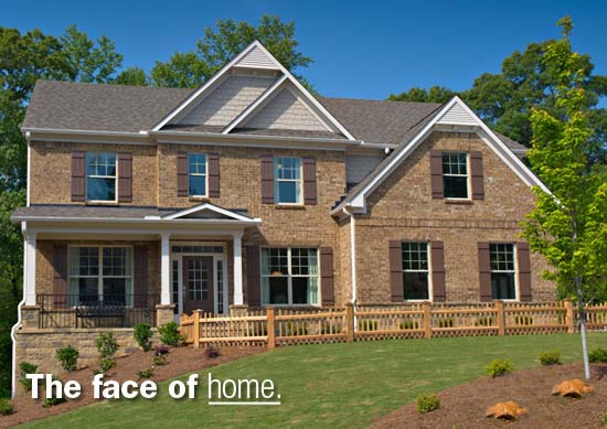 Lennar Homes in Atlanta Built with Waterford Stone