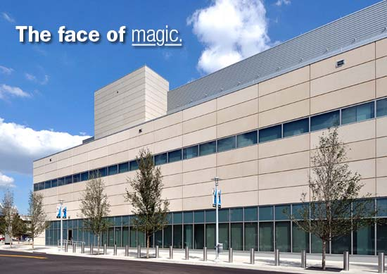 Amway Center Built with Trendstone Plus & Astra-Glaze SW+