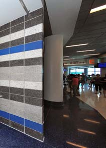 Amway Center Hallway Built with Trendstone Plus & Astra-Glaze SW+