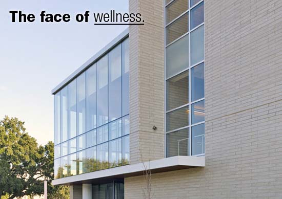 University of California Heath & Wellness Center Built with Trendstone Plus