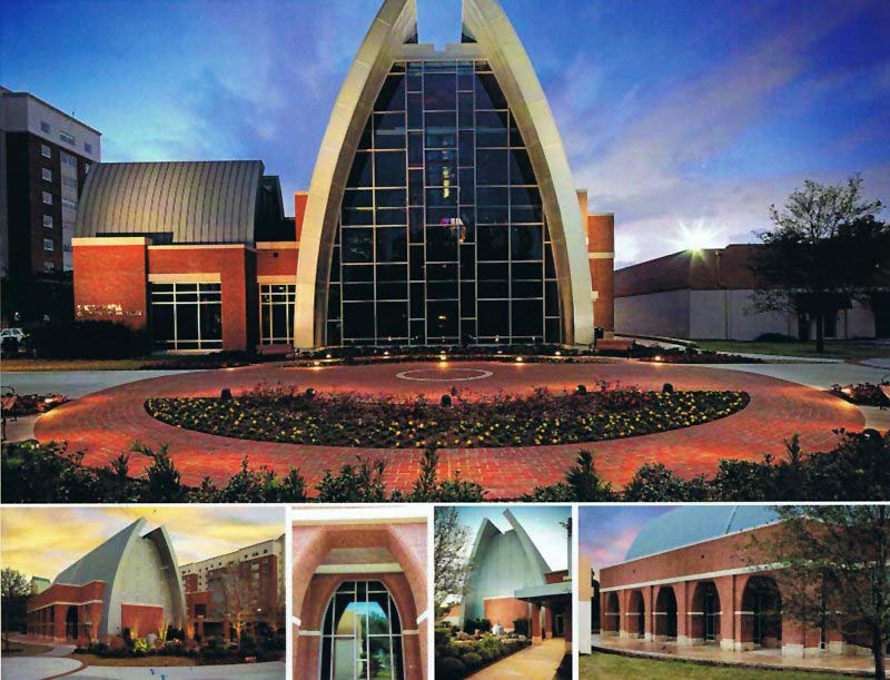 Echelon Masonry Products Used in Construction of Sykes Chapel in Tampa, FL