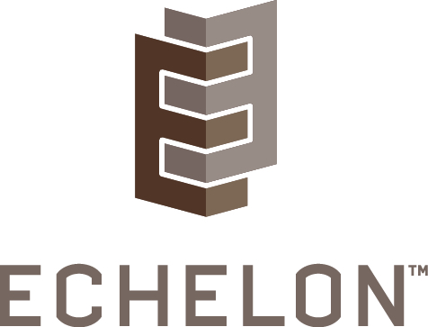 The Logo for Echelon Masonry by Oldcastle