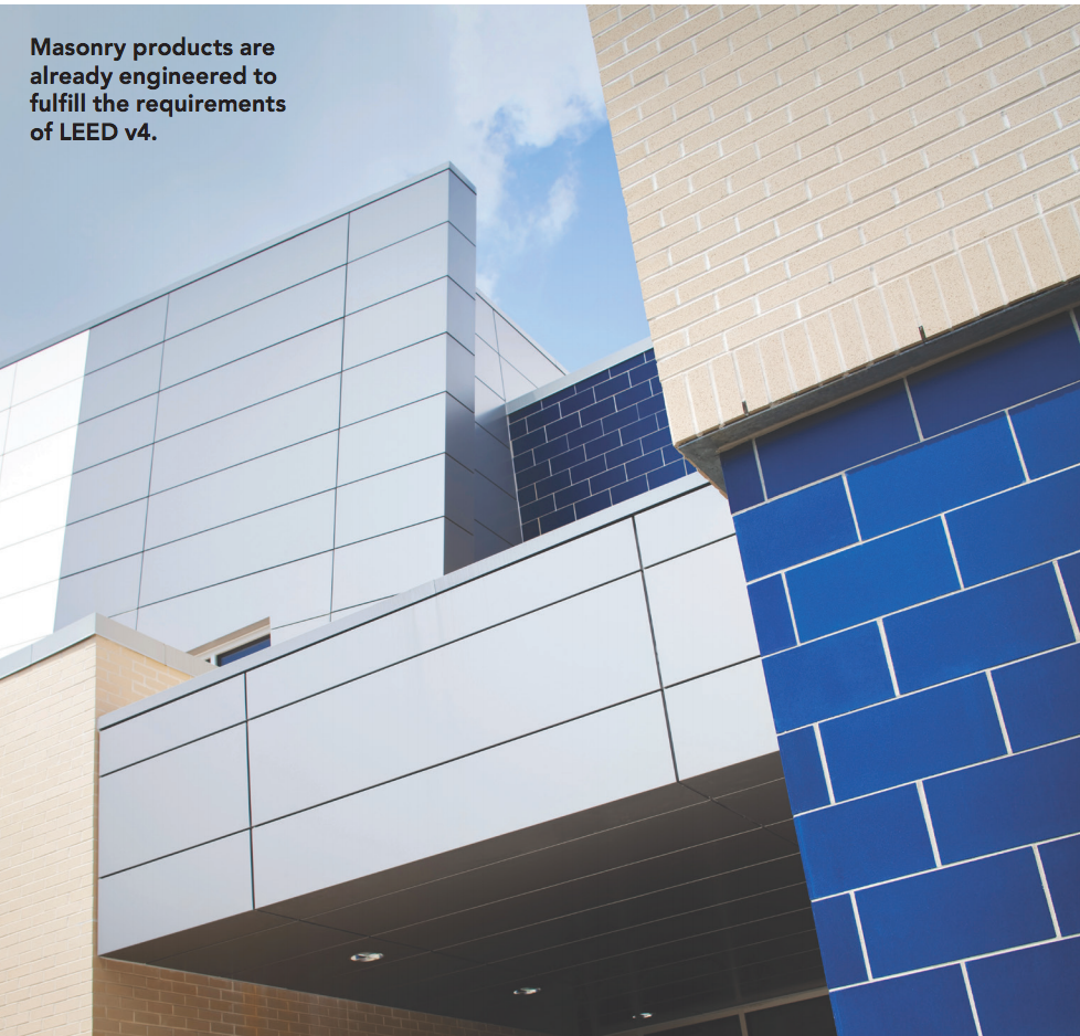 Masonry Products & LEED v4