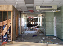 Hurricane Katrina Damage to South Plaquemines Schools