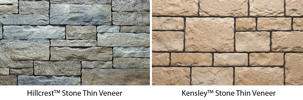 Kensley Stone Thin Artisan Masonry Veneers From Echelon: Dry-Cast Manufacturing: Thin Masonry Veneer Evolution
