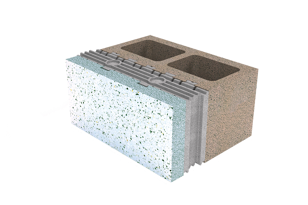 Architectural acoustics products insulated concrete for Insulated cement blocks