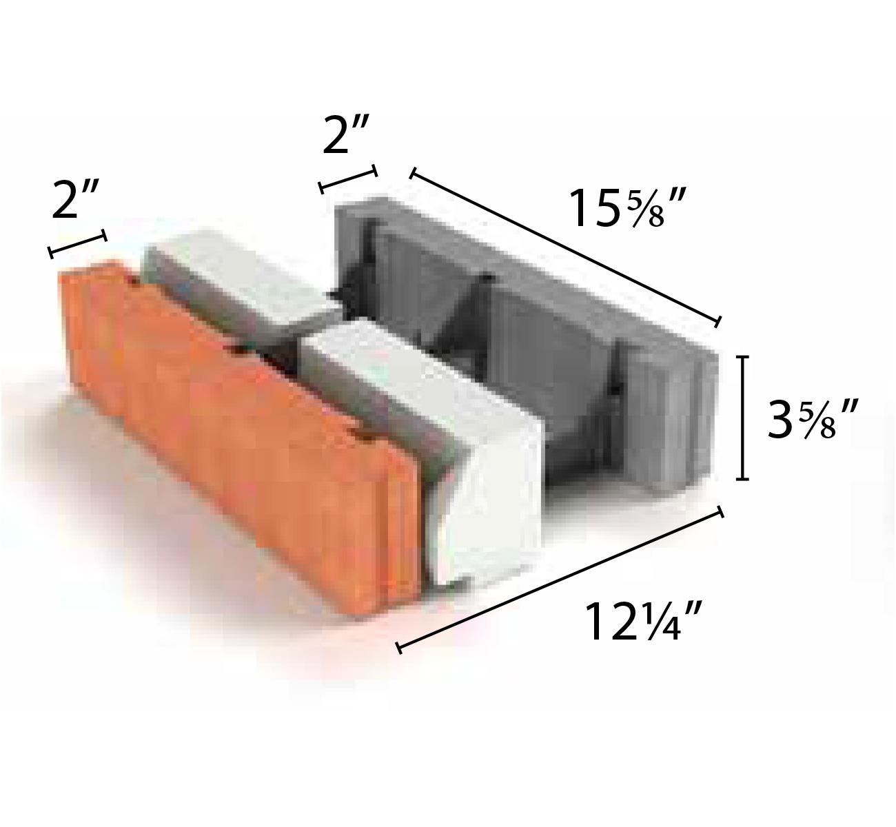 Split Face Blocks: Rough-Hewn Concrete Masonry Units from Echelon