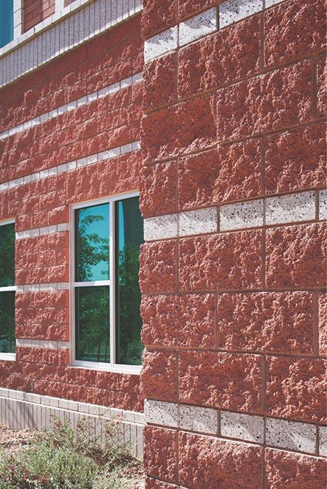 Split Face Blocks Rough Hewn Concrete Masonry Units From