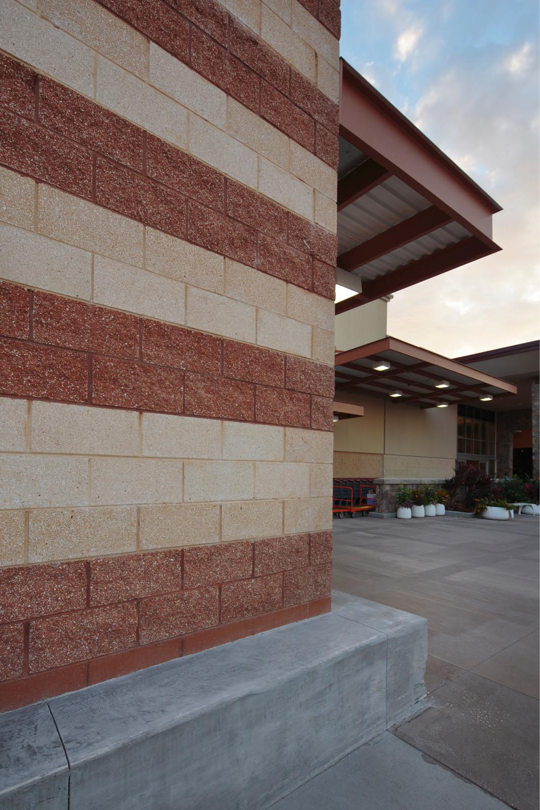 Split Face Blocks Rough Hewn Concrete Masonry Units From